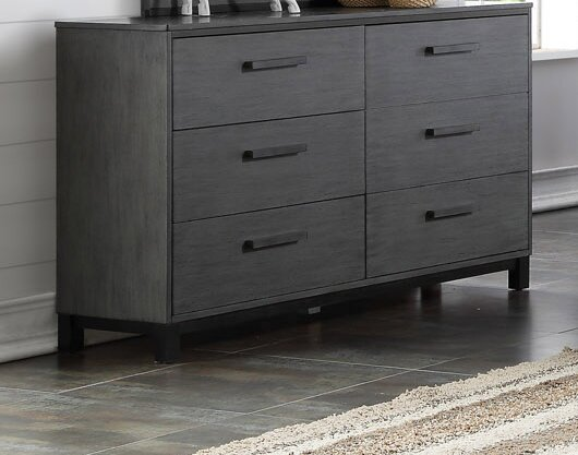 Hidalgo 6 Drawer Double Dresser by Brayden Studio