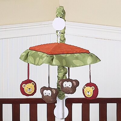 Jungle Time Musical Mobile by Sweet Jojo Designs