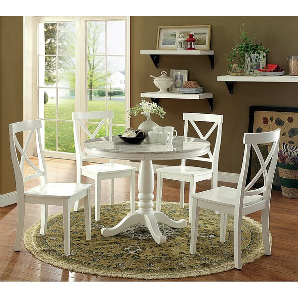 Adamsburg 5 Piece Dining Set by August Grove
