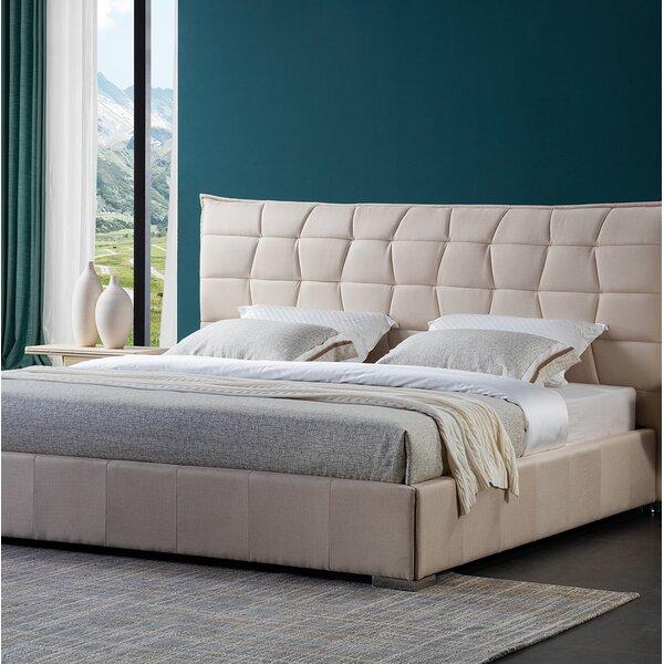 Fran Upholstered Platform Bed by Brayden Studio
