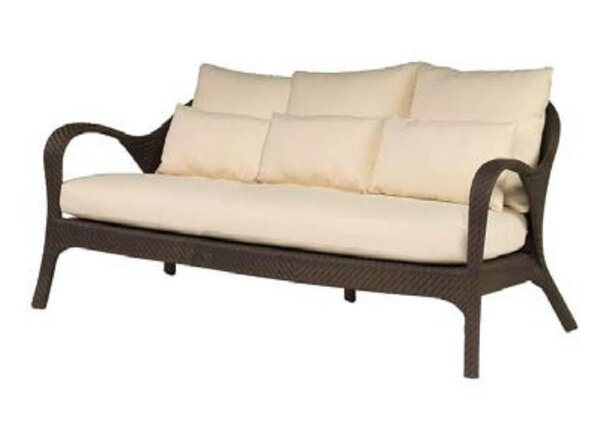 Bali Patio Sofa with Cushions by Woodard