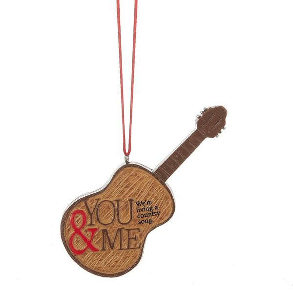 You & Me Country Song Hanging Figurine by Loon Pea