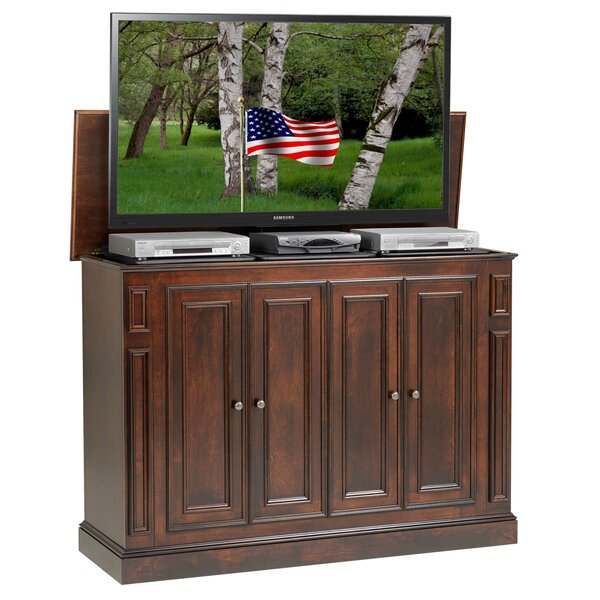 Review Scotti Solid Wood TV Stand For TVs Up To 60