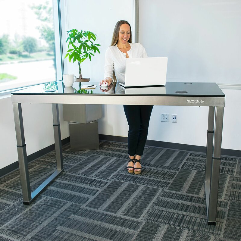 Exceptionnel Oanh Adjustable Height Motorized Standing Desk