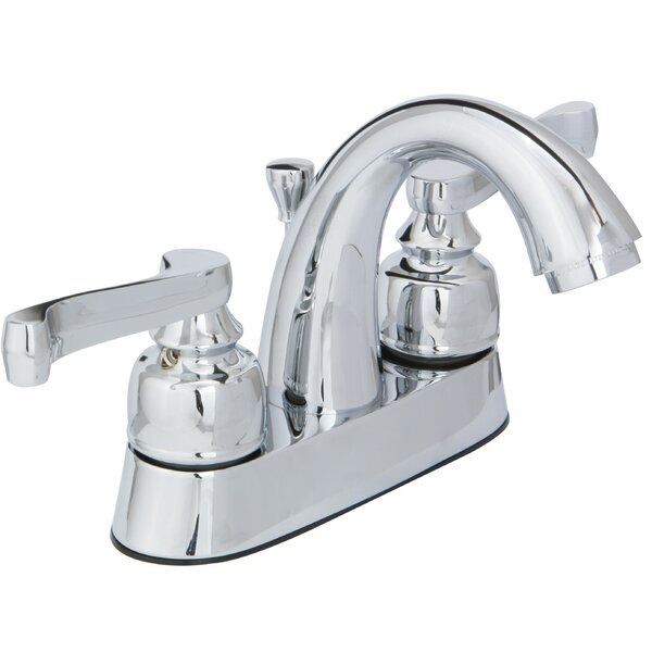 Sienna Centerset Bathroom Faucet with Drain Assembly by Huntington Brass