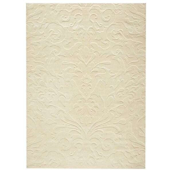 Ella Parchment Hand-Woven Area Rug by Birch Lane™