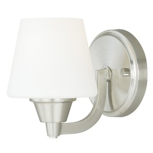 Check Prices Newlon 1-Light Bath Sconce By Ebern Designs