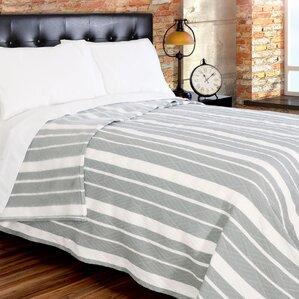 Fute Stripe 380 GSM Oversized Brushed Blanket