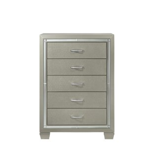 Best Reviews Rocky 5 Drawer Chest By Harriet Bee