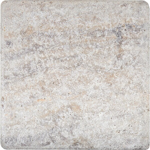 4 x 4 Travertine Field Tile in Antico by Parvatile