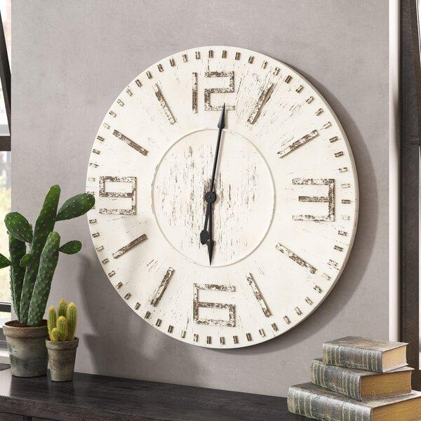 Oversized Charmayne 42 Wall Clock by Trent Austin Design