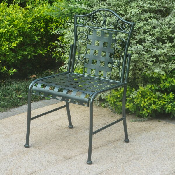 Dalmatia Patio Dining Chair (Set of 2) by Alcott Hill