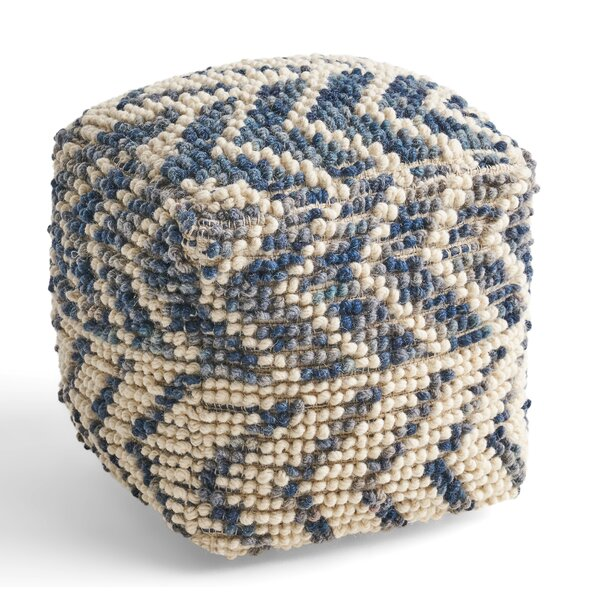 Hochstetler Tufted Pouf by Bungalow Rose