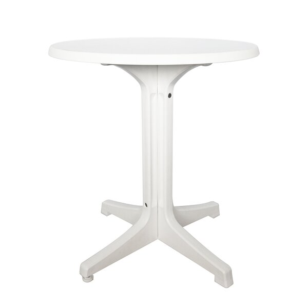 Omega Plastic Dining/Bistro Table by Grosfillex Expert