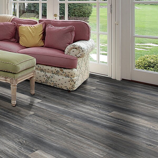 Rustica 6.5 x 48 x 12mm Oak Laminate Flooring in Paris by Bellami