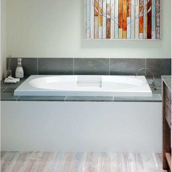 Nova Left-Hand Heater and Chroma 60 x 36 Drop in Whirlpool Bathtub by Jacuzzi®