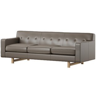 Lomonaco Leather Sofa