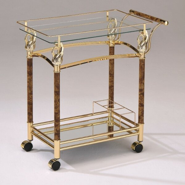 Piantedosi Serving Bar Cart by Astoria Grand Astoria Grand