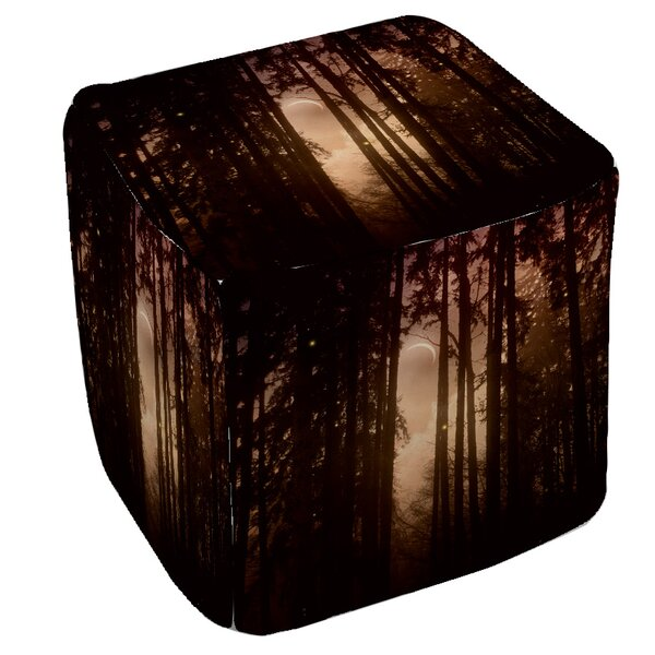 Forest Skyline Pouf by Manual Woodworkers & Weavers
