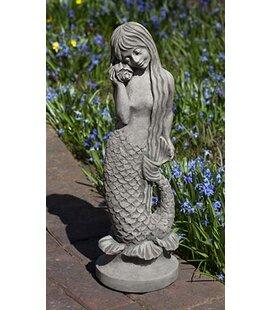 Beau Standing Mermaid Statue