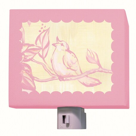 Toile Birdie Night Light by Oopsy Daisy