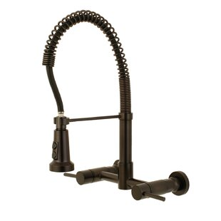 Wall Mount Faucet With Sprayer Wayfair
