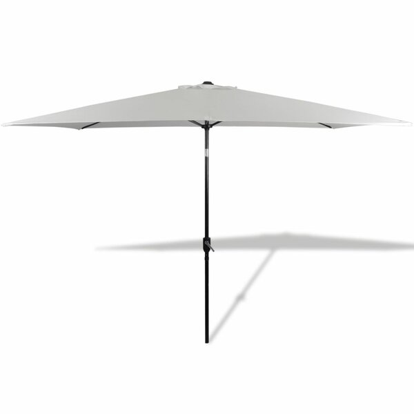 6.5' x 10' Rectangular Beach Umbrella by East Urban Home East Urban Home