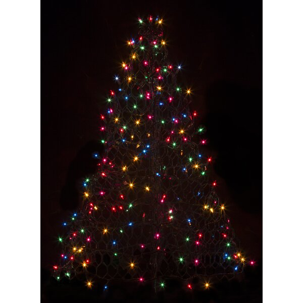 Crab Pot Christmas Tree® with 200 Incandescent Mini Lights by Crab Pot Christmas Trees