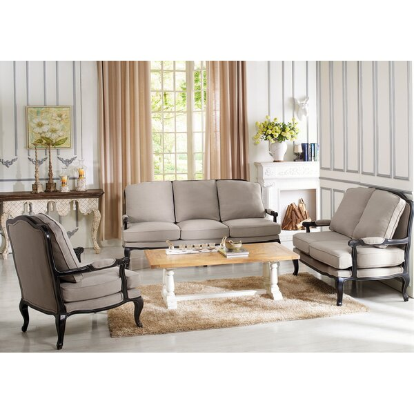 Bem 3 Piece Living Room Set by One Allium Way