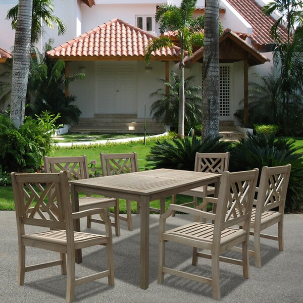Densmore 7 Piece Dining Set by Darby Home Co