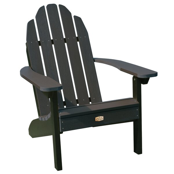 Hamptonburgh Essential Plastic Adirondack Chair by