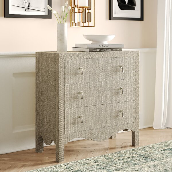 Clarens 3 Drawer Chest by Willa Arlo Interiors Willa Arlo Interiors