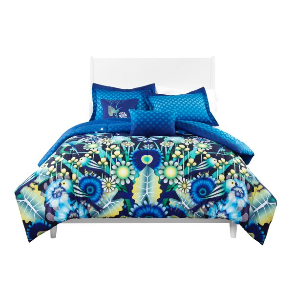 Catalina Estrada Jardin Reversible Comforter Set by Catalina Estrada
