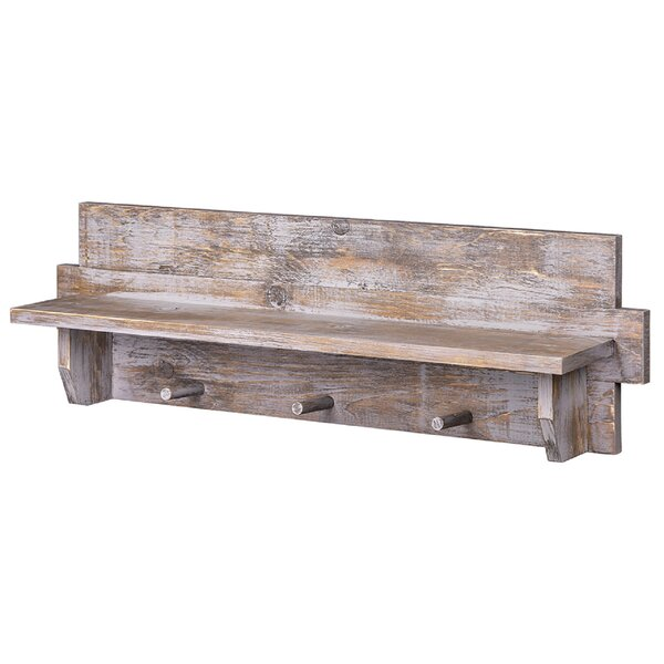 Chastain Outhouse Floating Shelf by Loon Peak