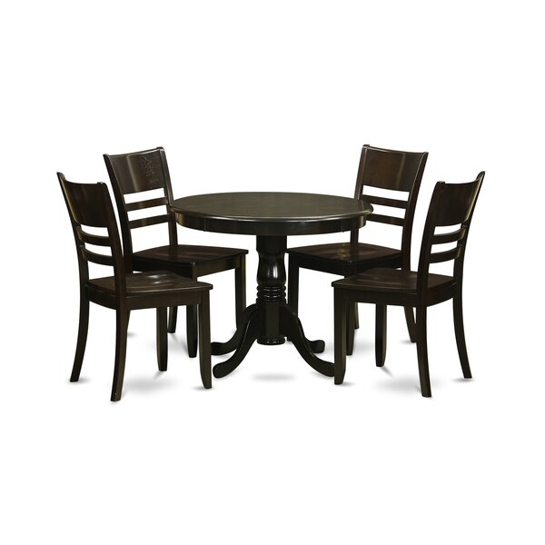 5 Piece Dining Set by Wooden Importers
