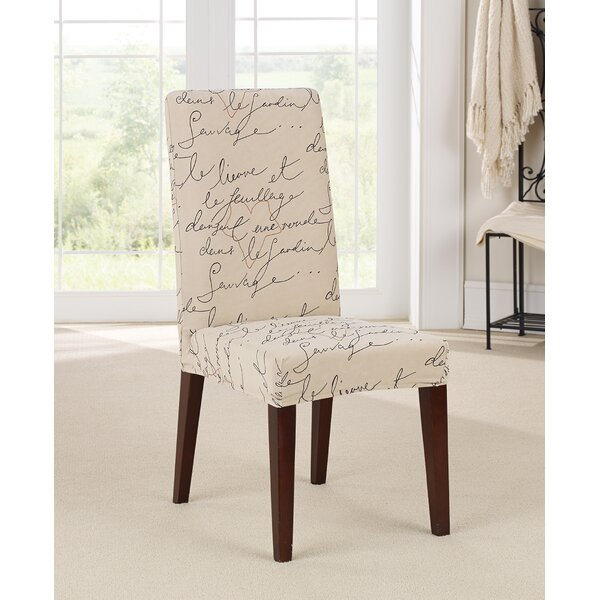 Stretch Pen Pal By Waverly Box Cushion Dining Chair Slipcover By Sure Fit
