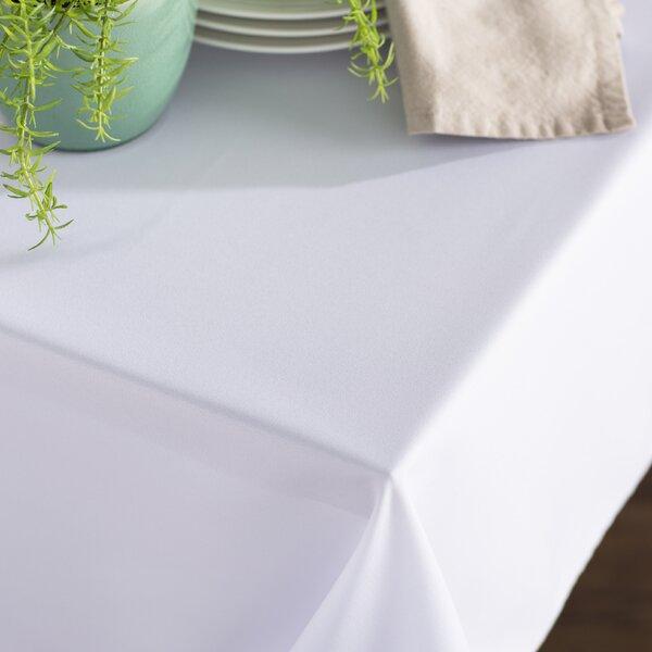 Wayfair Basics Poplin Rectangular Tablecloth by Wa