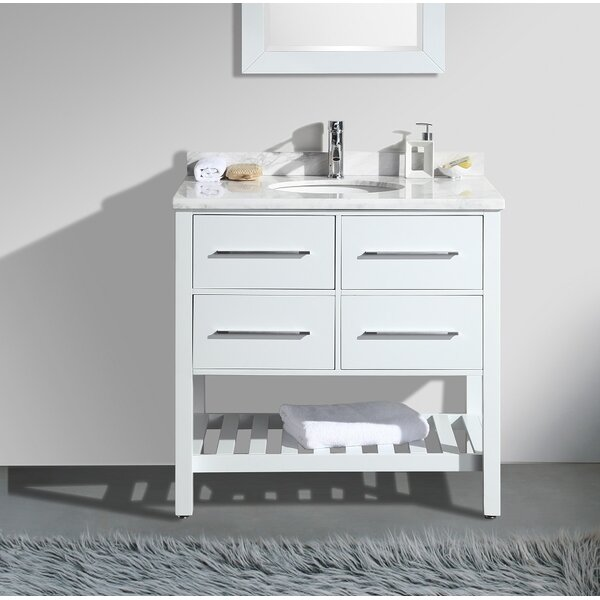 Jarrow 36 Single Bathroom Vanity Set by Highland Dunes