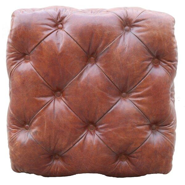 Buy Sale Paris Club Leather Tufted Ottoman