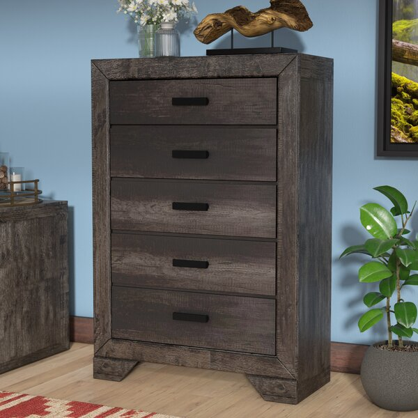 Katarina 5 Drawer Chest by Mistana Mistana