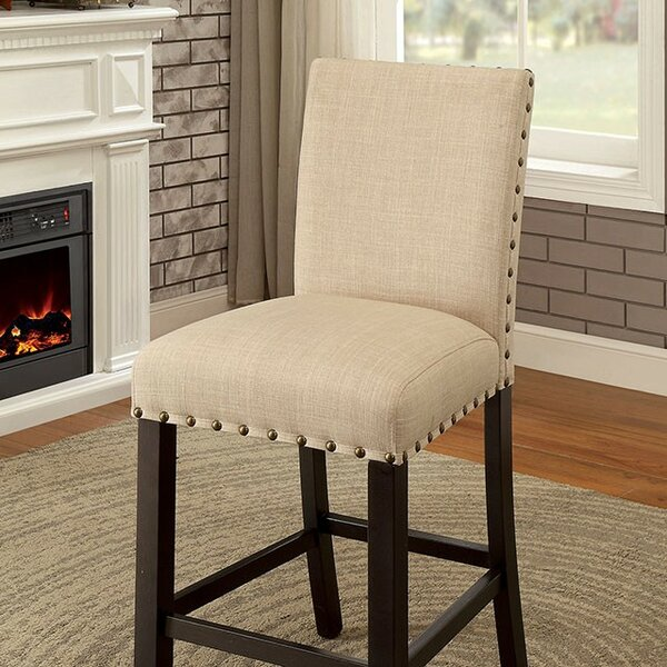 Katya Counter Height Upholstered Dining Chair (Set of 2) by Gracie Oaks