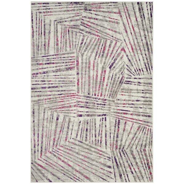 Cosner Gray/Pink Area Rug by Corrigan Studio