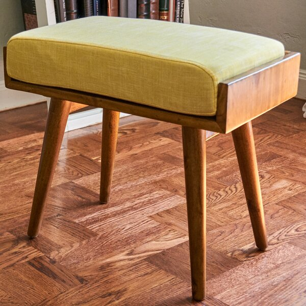 Emily Upholstered Vanity Stool by Langley Street