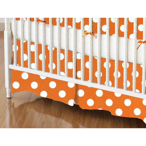Polka Dots Crib Skirt by Sheetworld