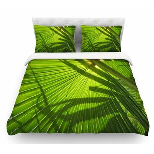 Palm Shadows by Rosie Brown Featherweight Duvet Cover