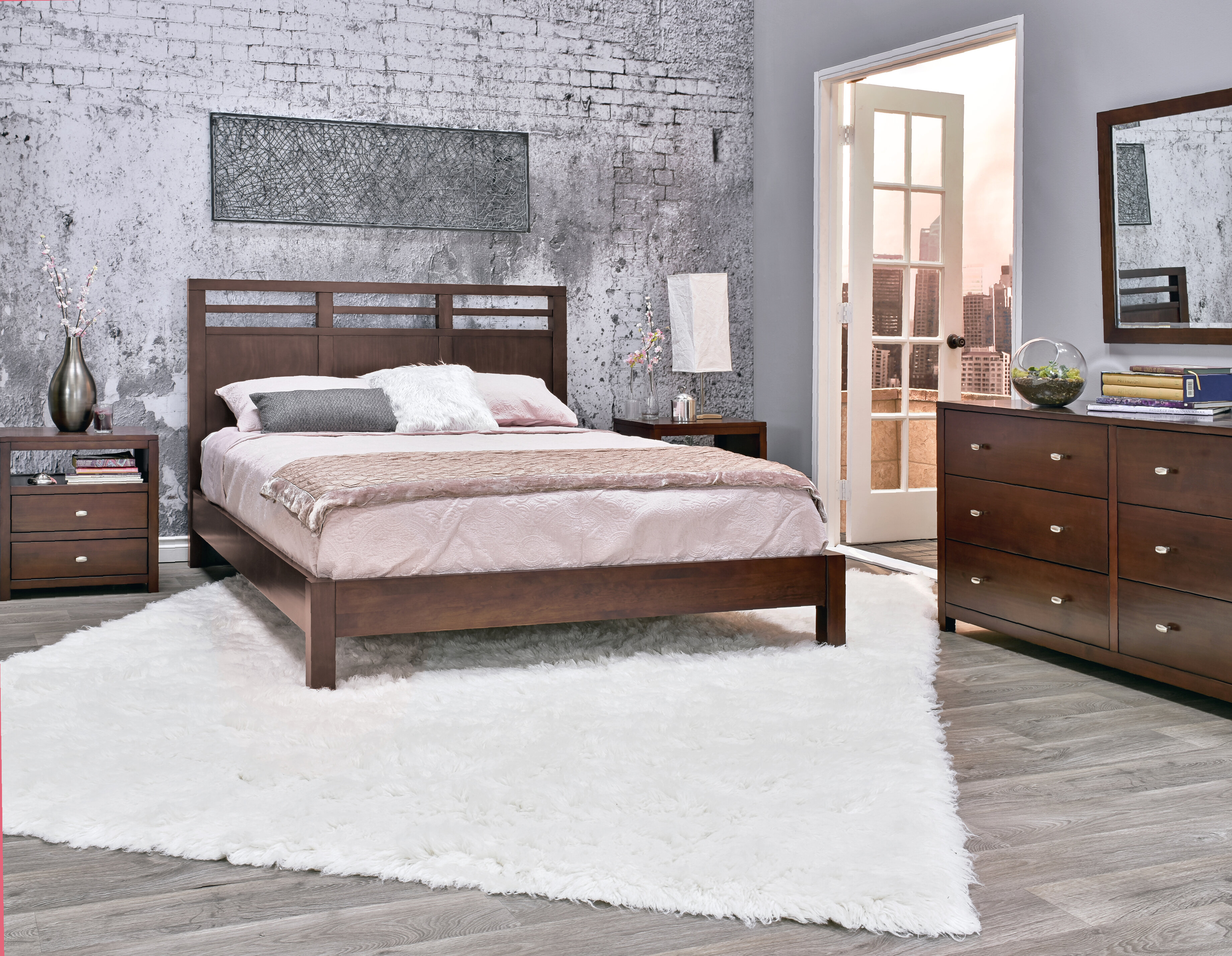 bedroom queen fujian piece size garden platform set overstock sets free today shipping product home