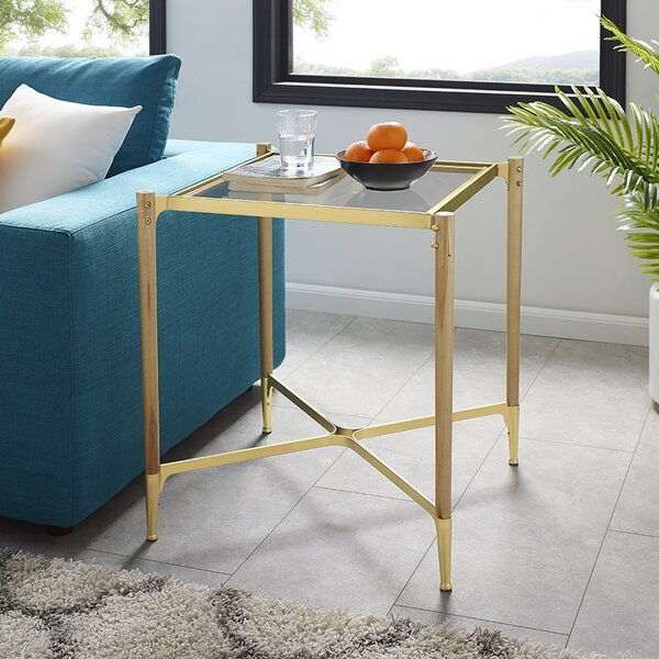 Cathrine Square End Table by Wrought Studio