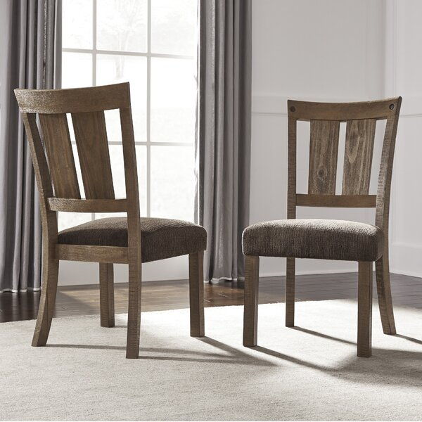 Etolin Upholstered Dining Chair (Set of 2) by Loon Peak