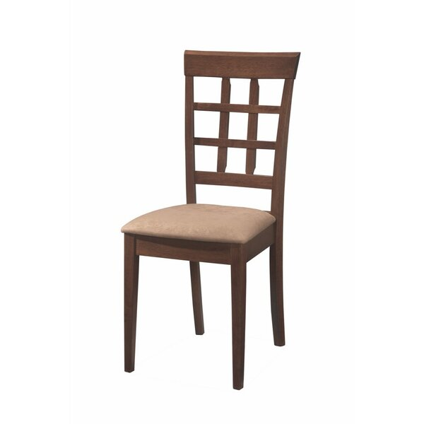 Baratz Open Grid Patterned Solid Wood Dining Chair (Set of 2) by Red Barrel Studio