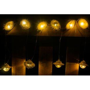 Find Tiki 10-Light Lantern String Lights By Winsome House